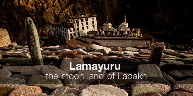 Lamayuru, the moonland of Ladakh, India