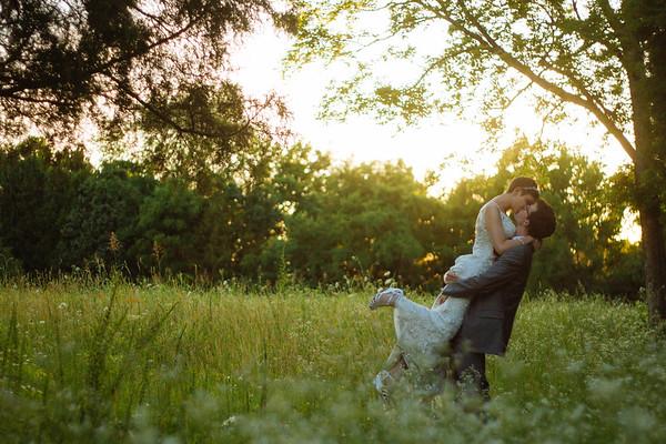 Kristina & Grant. Married