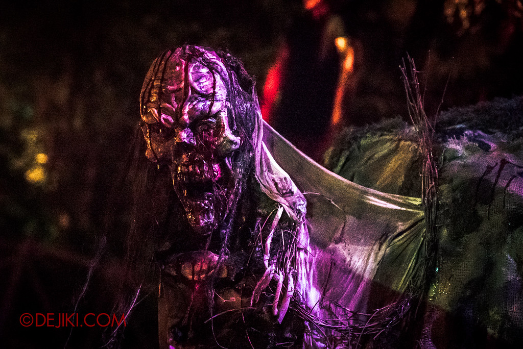 Halloween Horror Nights 6 Final Weekend - Suicide Forest / Hunchback