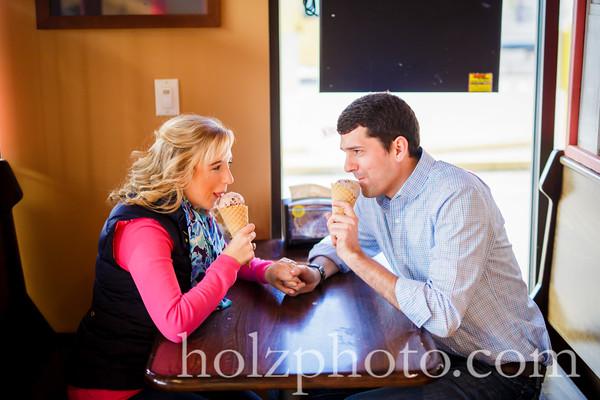 Elizabeth & Jim Color Engagement Photos