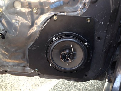1993 Nissan Maxima SE With Bose Front Door Speaker Installation - USA