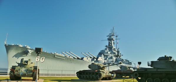 USS ALABAMA and memorial park