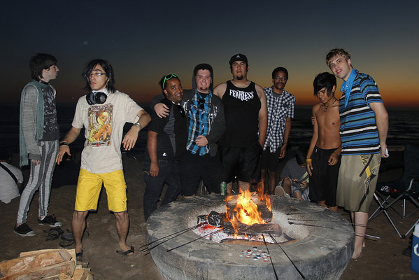 Sunset Beach Bonfire! Oct 19th 2013 (SoCal MeetUp)