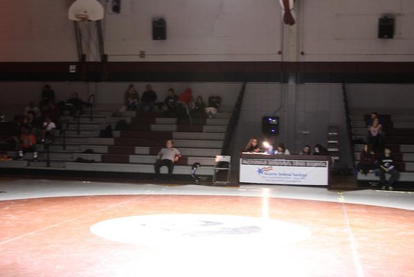 2013-2014 Senior Night - Wrestling