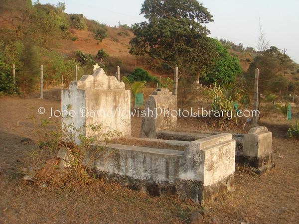 INDIA, Borli-Mandla (Konkan Coast, Maharashtra). Jewish Cemetery. (2009)