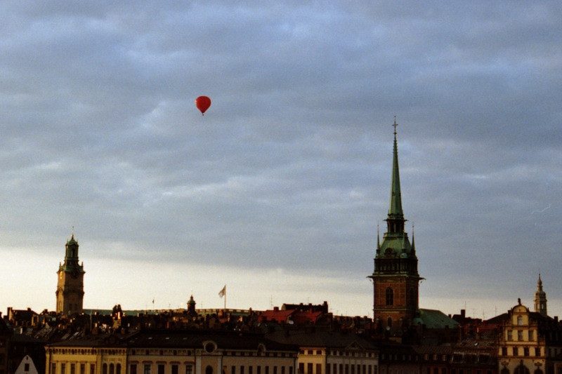 Balloon over Stockholm - Stockholm, Sweden