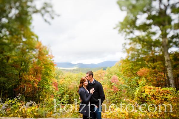 Natasha & Shane Color Engagement Photos