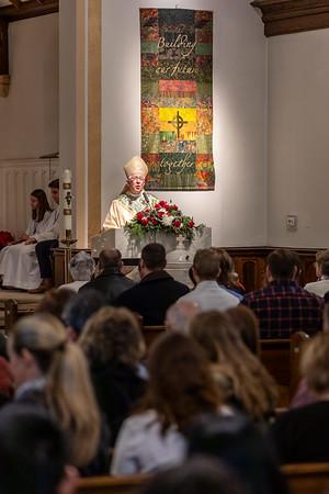 2018 Archbishop Visit - Saint Patrick Parish (Farmington CT)