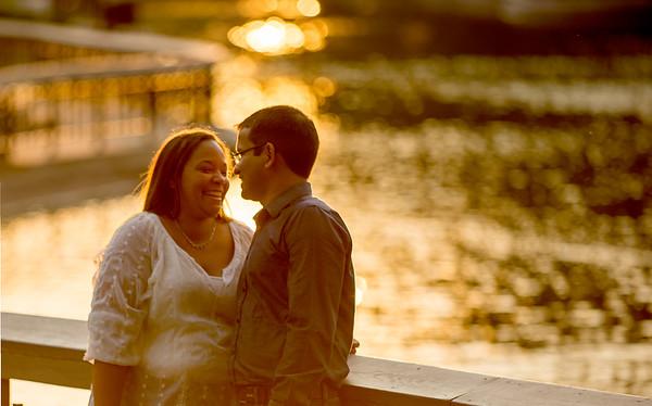 Dana and Deepak Engagement