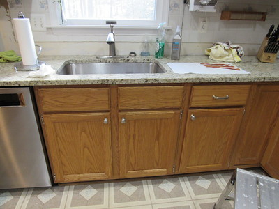 Kitchen & downstairs bath