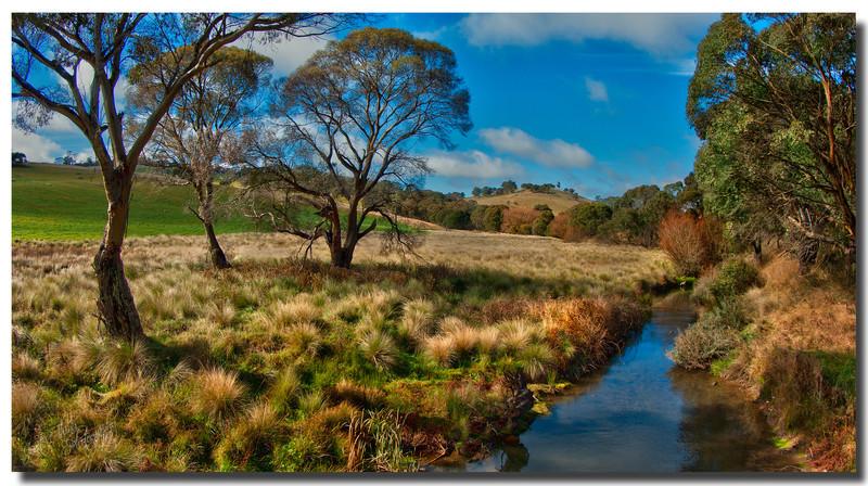 Duckmaloi River at Burrough Crossing