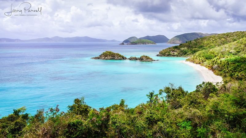 Trunk Bay, St. John Island - US Virgin Islands