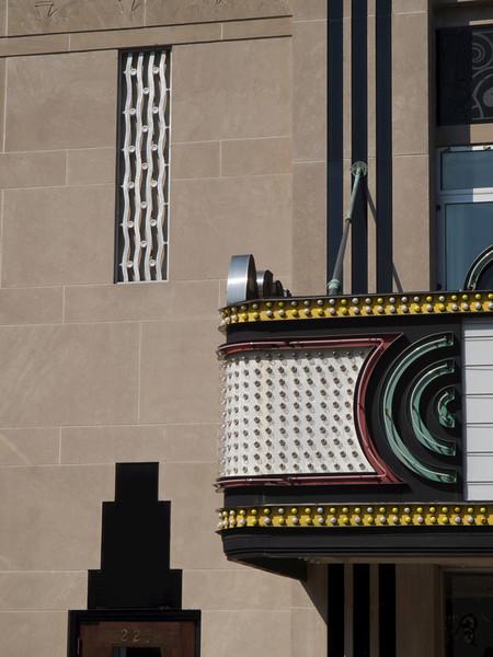 Riviera Theater, detail. Charleston, South Carolina