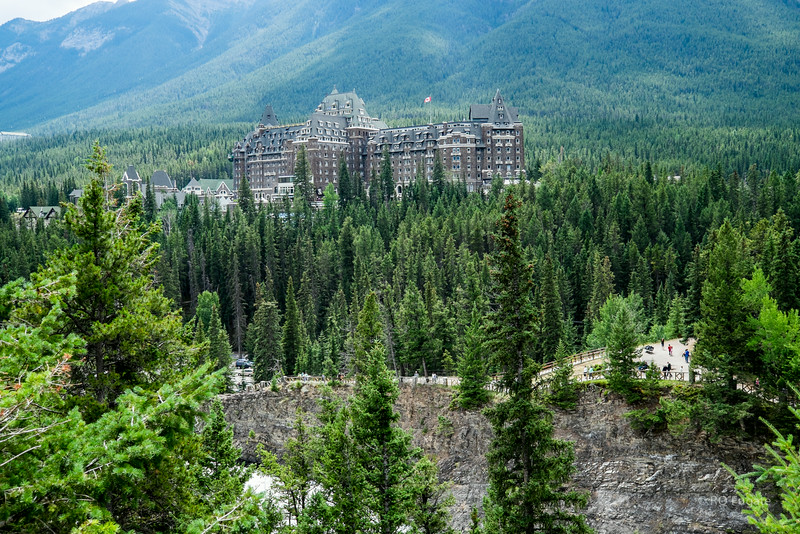 Fairmont Banff Springs Hotel built in 1888.