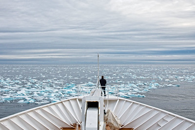 Arctic Circle, Liefdefd Fjord, Polar Icecap