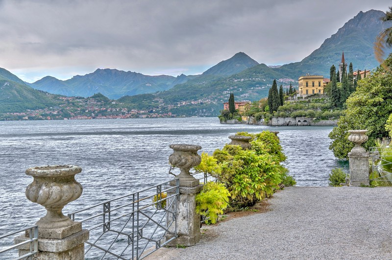 The grounds of Villa Monastero - Varenna, Italy - Lake Como