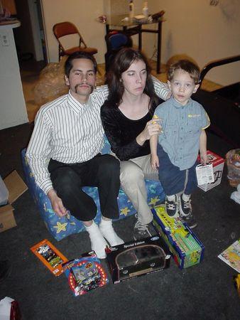 Christmas Eve Leslie's house in Pleasanton, CA '04
