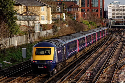 GWR Electrification Work: HSTs Diverted into Waterloo.