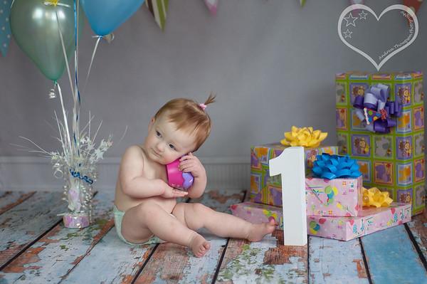 Aunaka's First Birthday