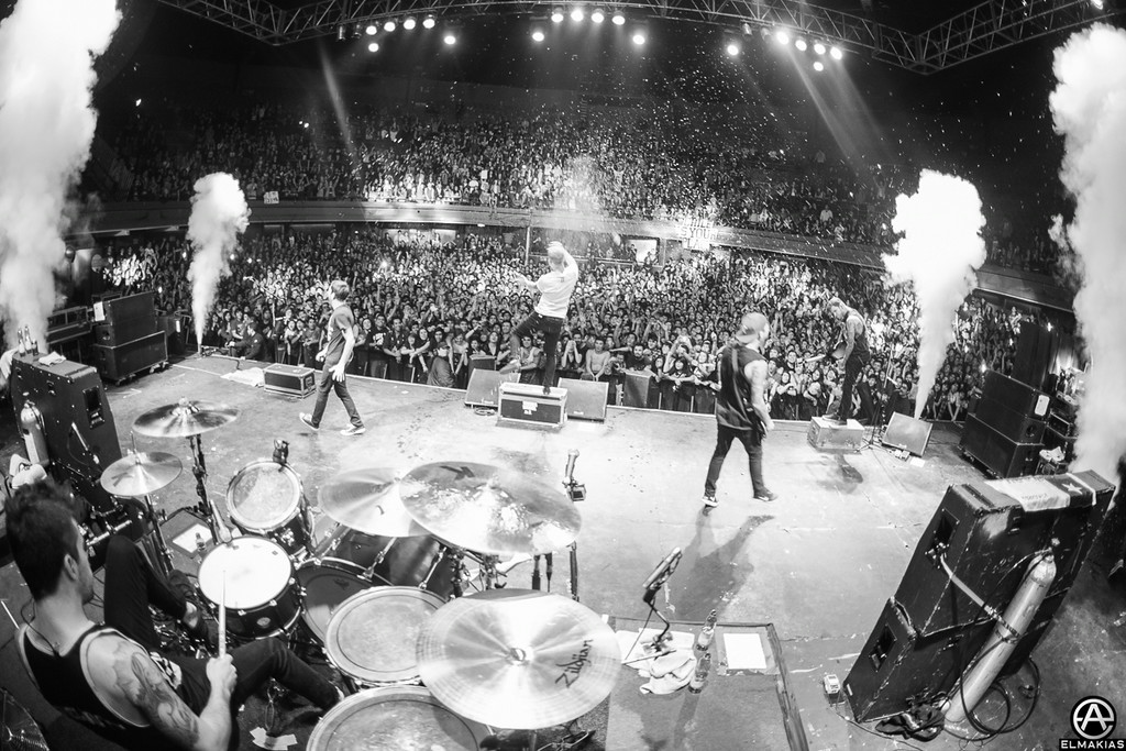 A Day To Remember live in Chile by Adam Elmakias