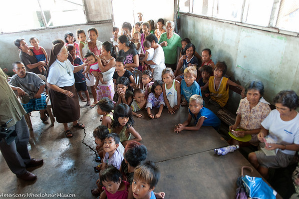 Naga City: Visit & Wheelchair Delivery to Village at City Dump