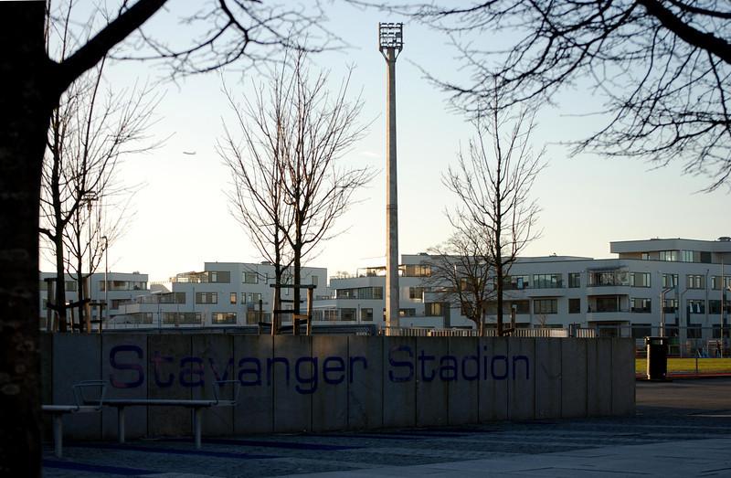 Stavanger Stadion og klar til 3000 m test