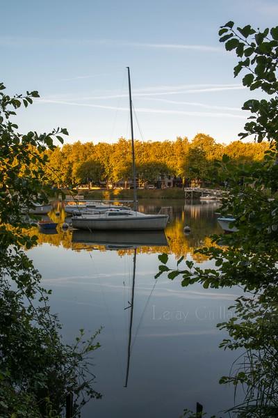Les bords de l'Erdre - Nantes