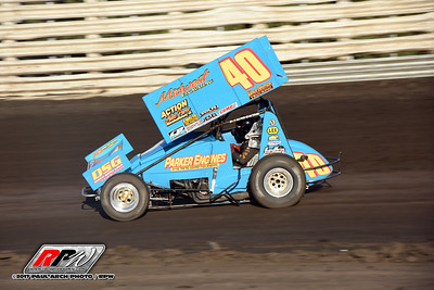 Knoxville Raceway - Night #2 - 8/4/17 - Paul Arch