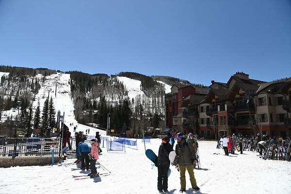 Vail Colorado - April 2021