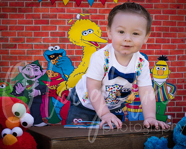Alexander First Birthday