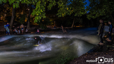 Eisbach Nightshooting