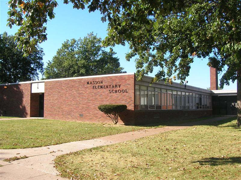. Historic photo provided by Jim Smith <br> Masson School opened in the late 1950s on Edgewood and West 40th Streets in Lorain.