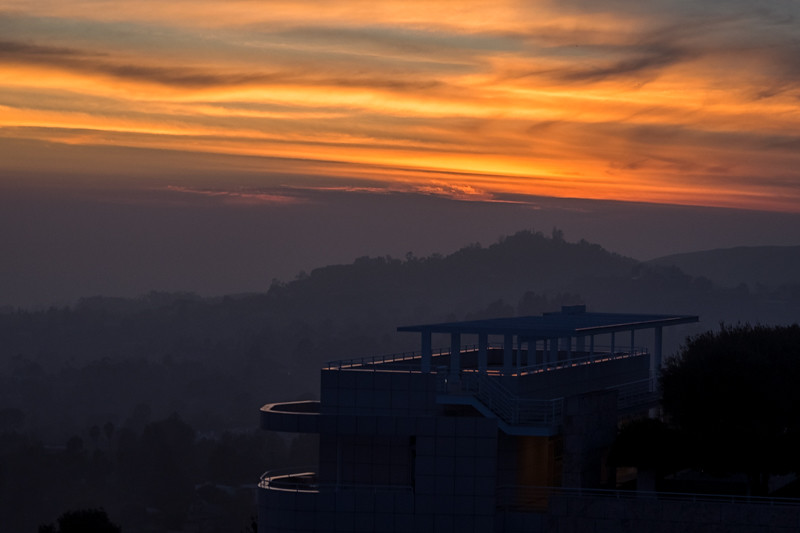 December 14 - Late autumn sunset over Santa Monica Mountains.jpg