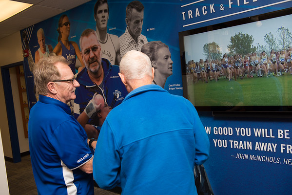 Track and Field Interactive Wall Display, 2017