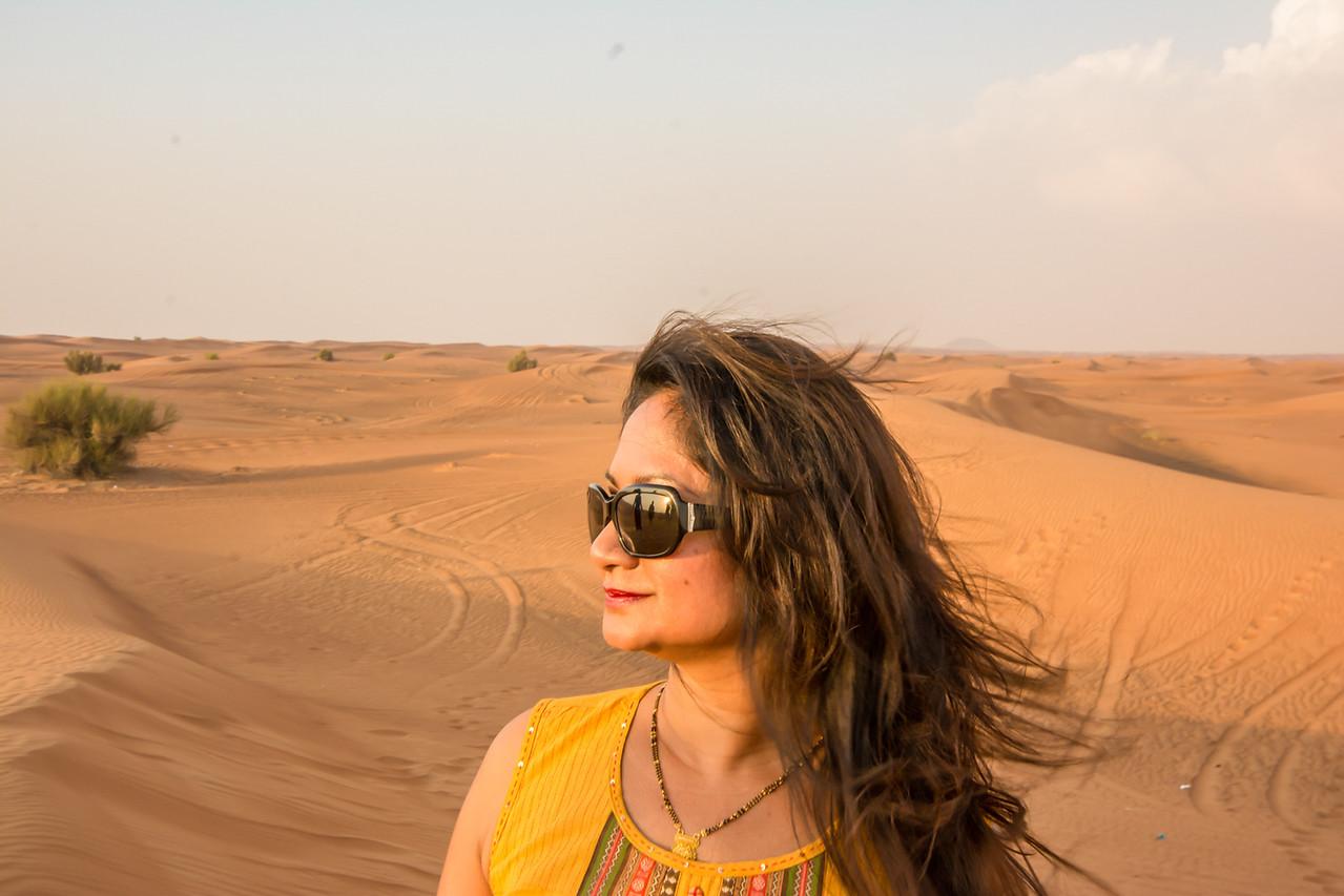 Al Aweer Desert, Dubai, UAE