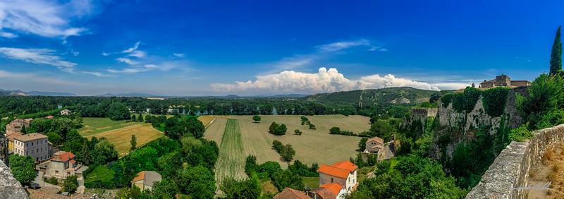 Rhone Valley panorama
