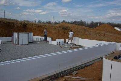 ICF Walls - Joelton, TN