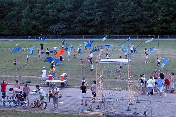 2005-08-08: Band Camp Day 6 (Evening Practice)