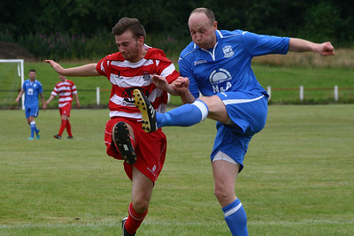 Johnstone Burgh 1 Benburb 2, Johnstone Burgh Tournament Final, 20th July 2014