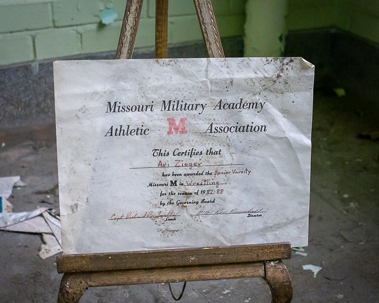 Junior Varsity Certificate