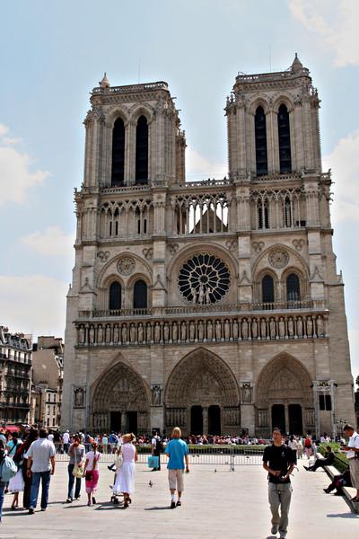 Notre Dame de Paris - Gothic Cathedral