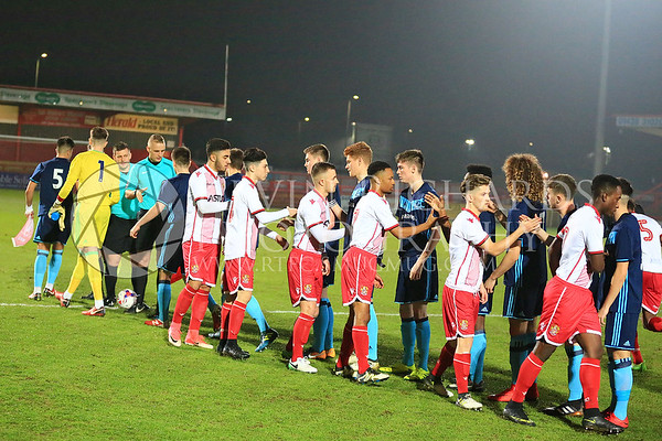 Stevenage U18 v Middlesbrough U18