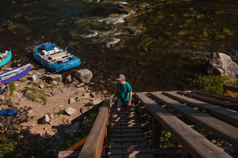 Boundary Creek Boat Launch
