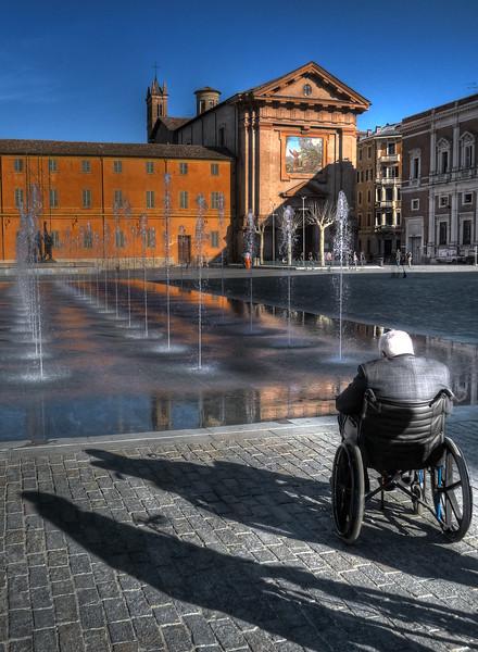 Piazza Martiri del 7 Luglio - Reggio Emilia, Italy - March 2009