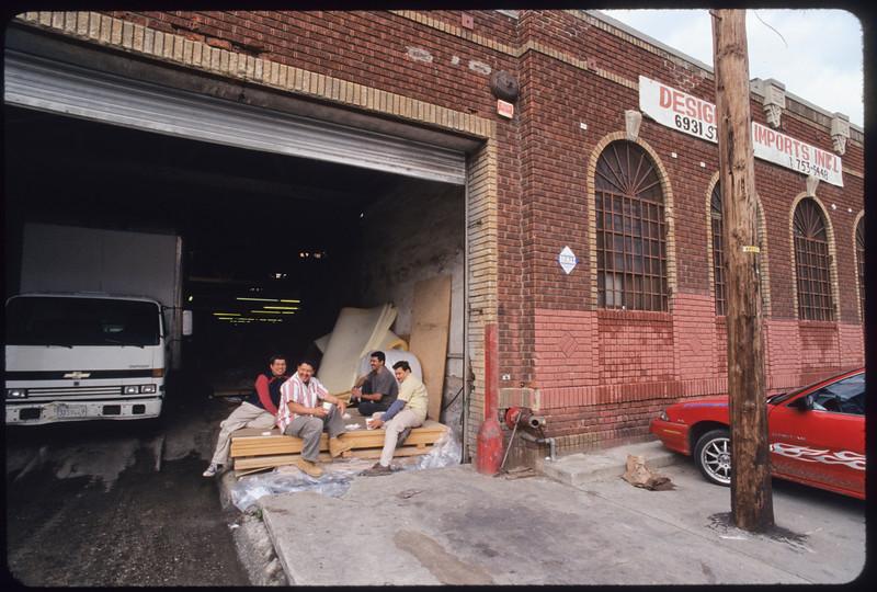 Industrial  buildings in Stanford Avenue, Los Angeles, 2005