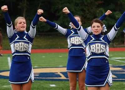 Cheerleaders vs Wellesley 2011