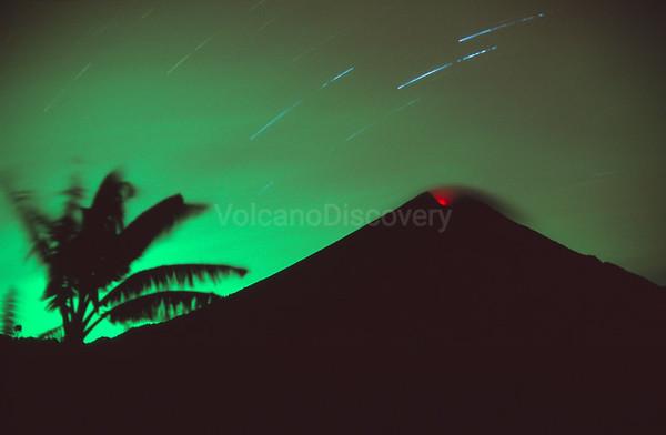 Semeru volcano, Indonesia