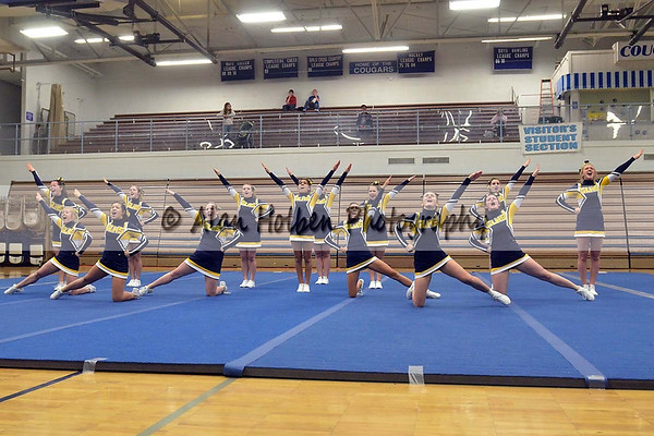 Cheer at LCC - Grand Ledge Varsity - Round 1 - Jan 25