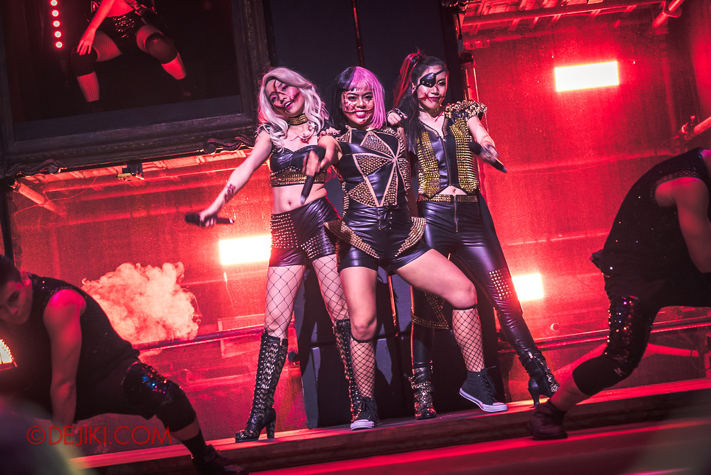 Halloween Horror Nights 7 Review - Slit Face Girls / Slice of Life Tour 2