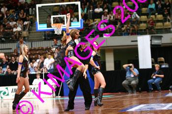 Razorbacks Vs Cairns 4-10-06 - Cheerleaders & 1/2 Time Entertainment